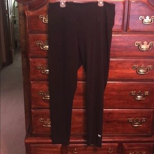 PINK Victoria's Secret XL black cotton legging